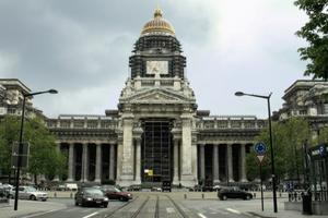 The Palace of Justice of Brussels / The Law Courts of Brussels(Justitiepaleis)