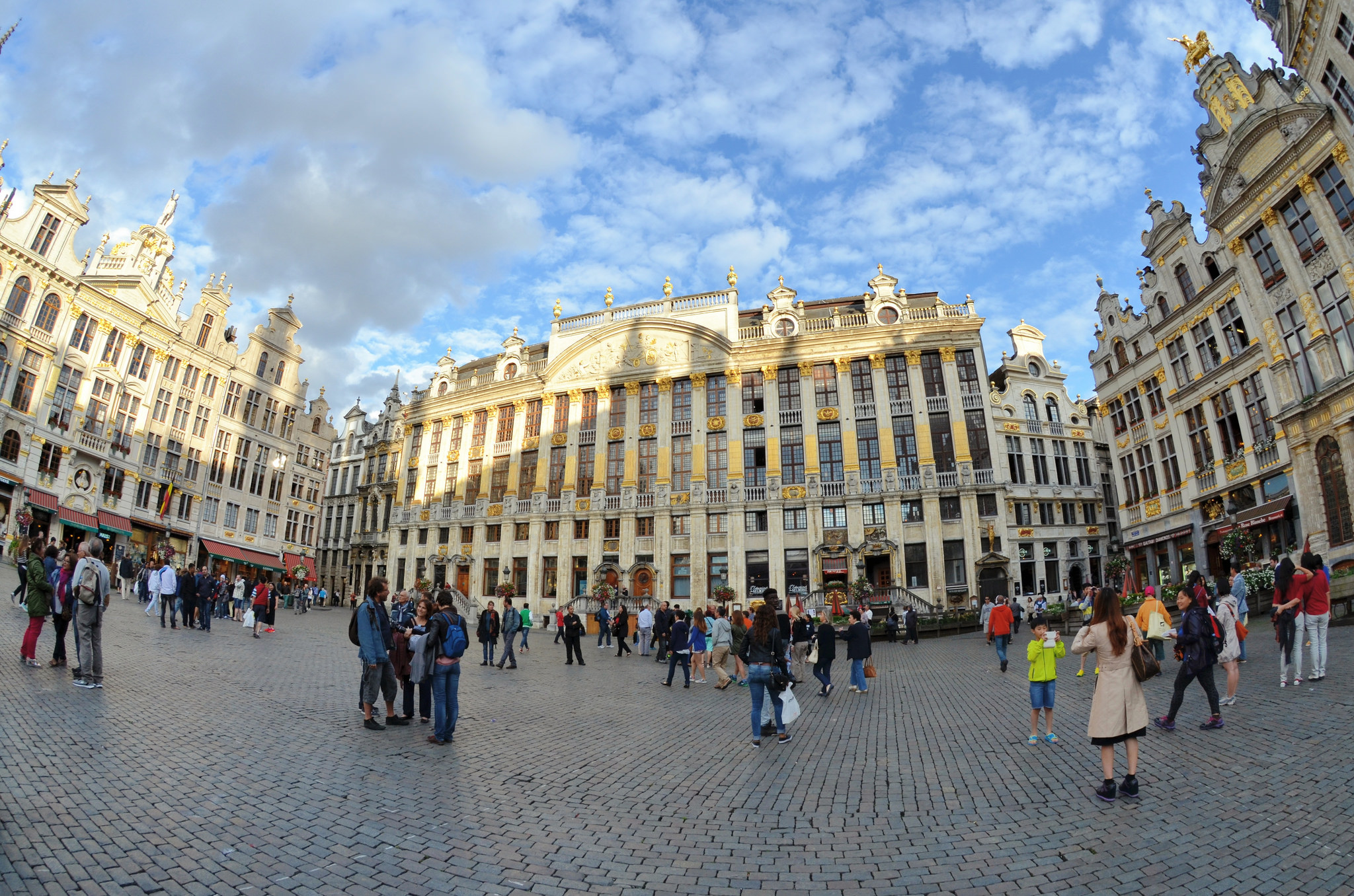 Stunning Architecture at Grand Place