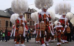 Thumbnail for Have Fun at Binche Carnival near Brussels