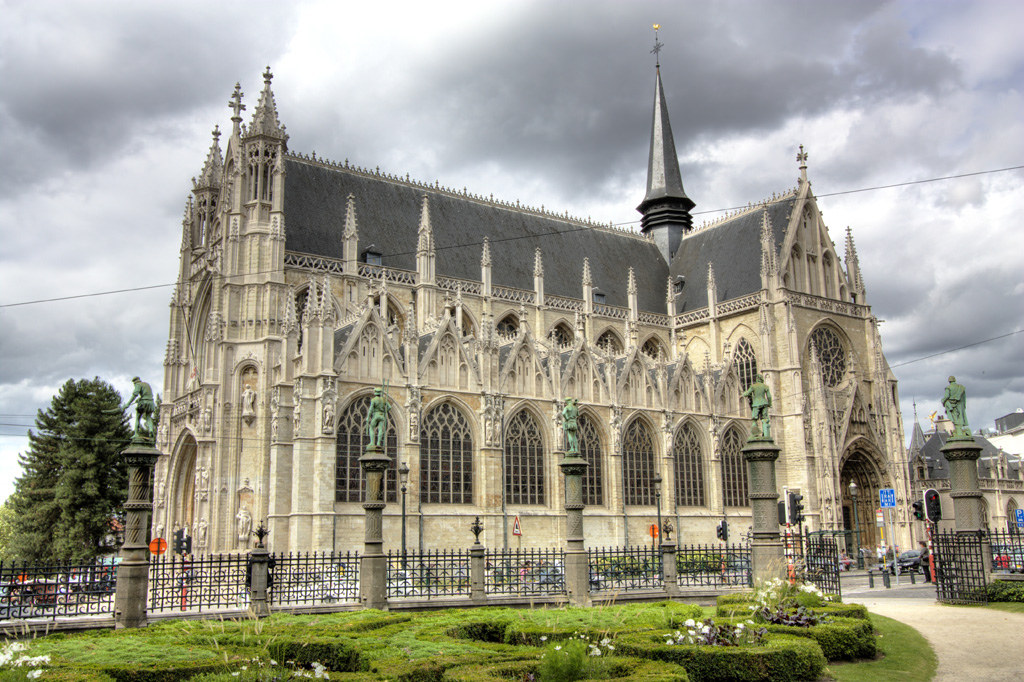 Our Lady of Sablon church in Brussels